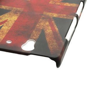 Plastové puzdro pre Sony Xperia Z L36i C6603- UK vlajka - 5