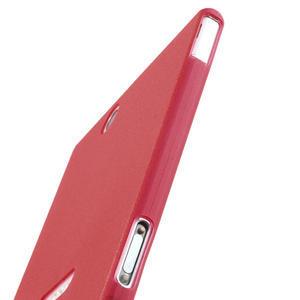 Ultra slim puzdro na Sony Xperia Z ultra- červené - 5