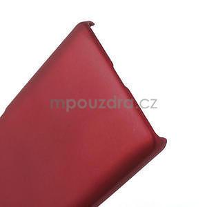 Pogumované  puzdro pre LG Optimus L9 II D605- červené - 5