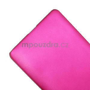 Pogumované  puzdro pre LG Optimus L9 II D605- růžové - 5