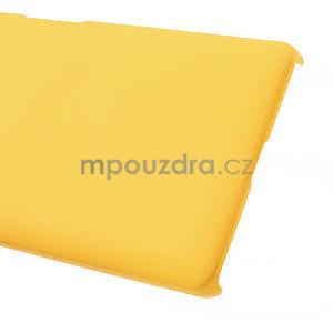 Pogumované  puzdro pre LG Optimus L9 II D605- žlté - 5
