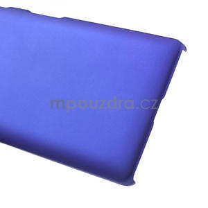 Pogumované  puzdro pre LG Optimus L9 II D605- modré - 5