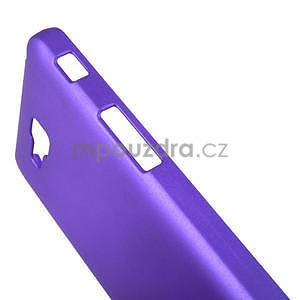 Pogumované  puzdro pre LG Optimus L9 II D605- fialové - 5