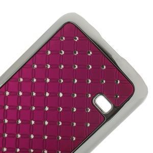 Drahokamové pouzdro na Samsung Galaxy S5 mini G-800- růžové - 5