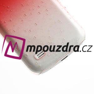 Plastové minerálné puzdro pro Samsung Galaxy S4 mini i9190- červené - 5