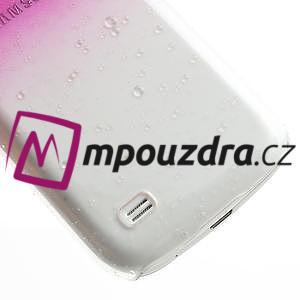 Plastové minerálné puzdro pre Samsung Galaxy S4 mini i9190- ružové - 5