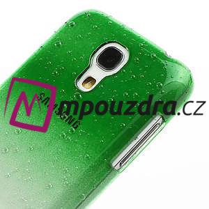 Plastové minerálné puzdro pre Samsung Galaxy S4 mini i9190- zelené - 5