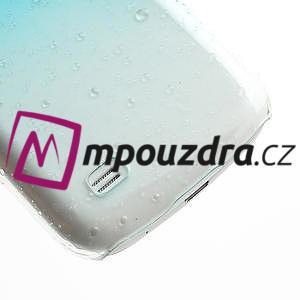 Plastové minerálné puzdro pre Samsung Galaxy S4 mini i9190- svetlomodré - 5