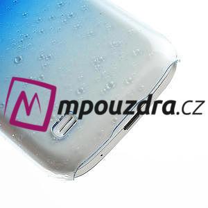 Plastové minerálné puzdro pre Samsung Galaxy S4 mini i9190- modré - 5