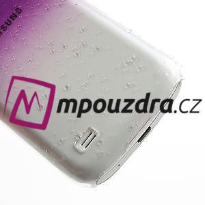 Plastové minerální pouzdro pro Samsung Galaxy S4 mini i9190- fialové - 5