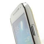 Drahokamové pouzdro pro Samsung Galaxy S4 mini i9190- žluté - 5/5