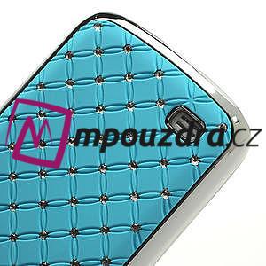 Drahokamové pouzdro pro Samsung Galaxy S4 mini i9190- svělemodré - 5