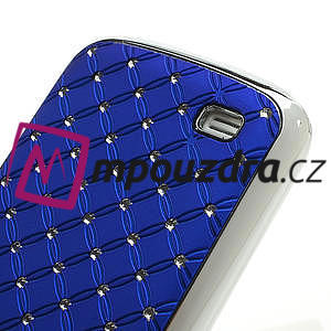 Drahokamové pouzdro pro Samsung Galaxy S4 mini i9190- modré - 5