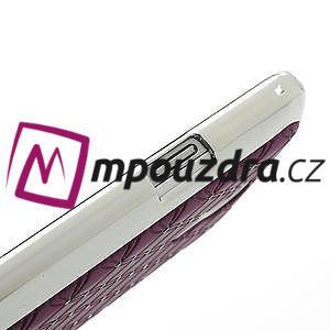 Drahokamové pouzdro pro Samsung Galaxy S4 mini i9190- fialové - 5