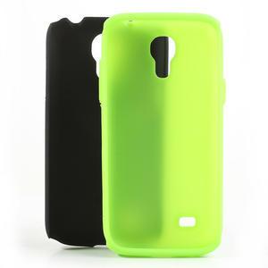 Hybridní puzdro na Samsung Galaxy S4 mini i9190- zelené - 5