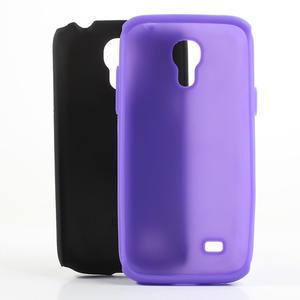 Hybridné puzdro pre Samsung Galaxy S4 mini i9190- fialové - 5