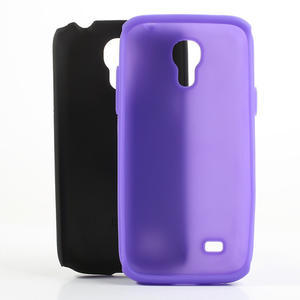 Hybridní pouzdro na Samsung Galaxy S4 mini i9190- fialové - 5