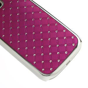 Drahokamové puzdro pre Samsung Galaxy S3 i9300 - ružové - 5