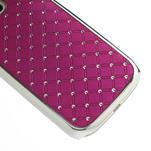 Drahokamové puzdro pre Samsung Galaxy S3 i9300 - ružové - 5/5