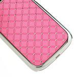 Drahokamové puzdro pre Samsung Galaxy S3 i9300- světle-růžové - 5/5