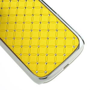 Drahokamové puzdro pre Samsung Galaxy S3 i9300 - žltá - 5