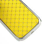 Drahokamové puzdro pre Samsung Galaxy S3 i9300 - žltá - 5/5