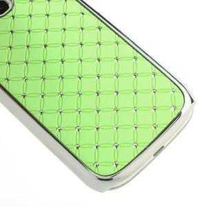 Drahokamové puzdro pre Samsung Galaxy S3 i9300 - zelené - 5