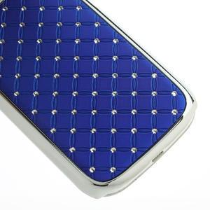 Drahokamové puzdro pre Samsung Galaxy S3 i9300 - modré - 5