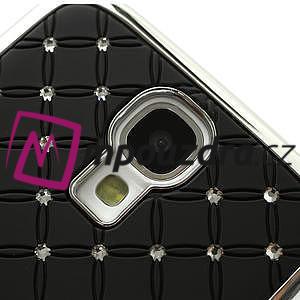 Drahokamové pouzdro pro Samsung Galaxy S4 i9500- černé - 5