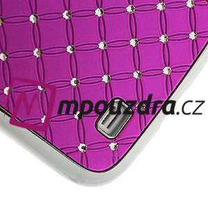 Drahokamové pouzdro pro Samsung Galaxy S4 i9500- růžové - 5