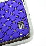 Drahokamové puzdro pro Samsung Galaxy S4 i9500- modré - 5/7