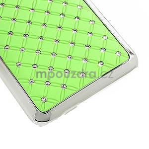 Drahokamové puzdro pre HTC one Mini M4- zelené - 5