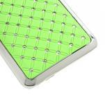 Drahokamové puzdro pre HTC one Mini M4- zelené - 5/5
