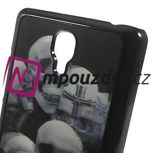 Hard Case 3D puzdro na Xiaomi Mi3- lebky - 5