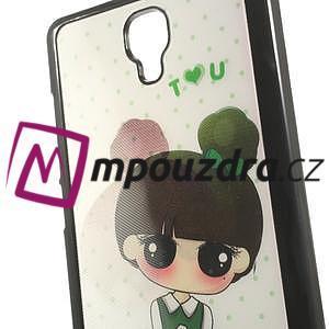 Hard Case 3D puzdro na Xiaomi Mi3- dívka - 5