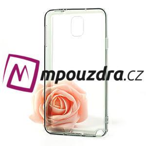 Gélové hybrid puzdro na Samsung Galaxy Note 3- šedé - 5