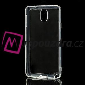 Gélové hybrid puzdro na Samsung Galaxy Note 3- transparentný - 5
