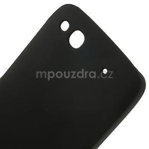 Hard Case puzdro na Alcatel One Idol Alpha 6032 A - čierné - 5