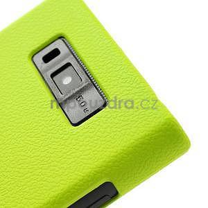 Texturované puzdro pre LG Optimus L7 P700- zelené - 5