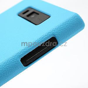 Texturované puzdro pre LG Optimus L7 P700- modré - 5
