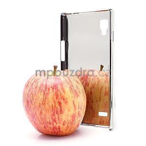 Drahokamové puzdro pre LG Optimus L9 P760- žlté - 5