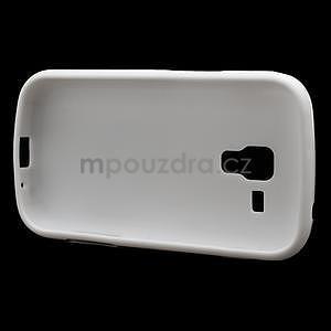 Plastogélové puzdro pre Samsung Galaxy Trend, Duos- biele - 5