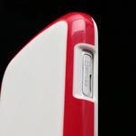 Plastogélové puzdro na Samsung Galaxy Trend, Duos- červené - 5/5
