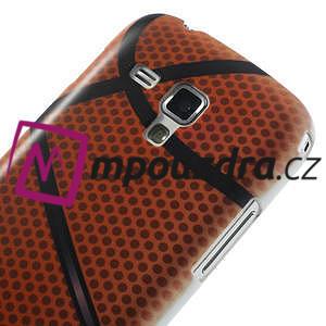 Plastové puzdro pre Samsung Trend plus, S duos - basketbal - 5