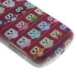 Plastové puzdro na Samsung Trend plus, S duos - multi sovičky - 5/6