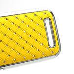 Drahokamové puzdro pre HTC One SV- žlté - 5/5