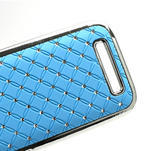 Drahokamové puzdro pre HTC One SV- svetlo modré - 5/5