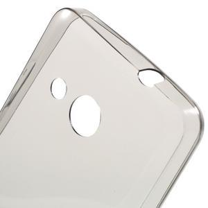 Ultratenký gélový obal na mobil Microsoft Lumia 550 - šedý - 5