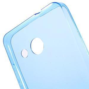 Ultratenký gélový obal pre mobil Microsoft Lumia 550 - modrý - 5