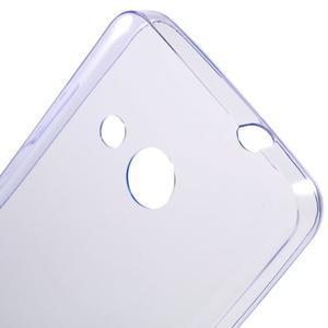 Ultratenký gélový obal na mobil Microsoft Lumia 550 - fialový - 5